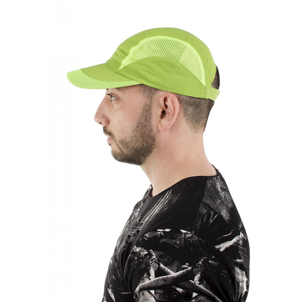 Зелена Шапка с Козирка Изчистена с Мрежа
