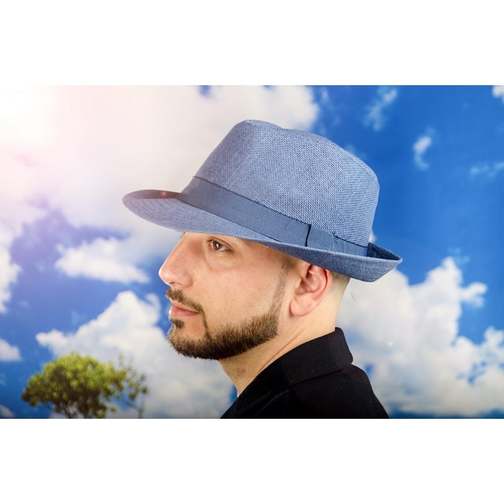 Мъжко Бомбе в Синьо със Синя Лента
