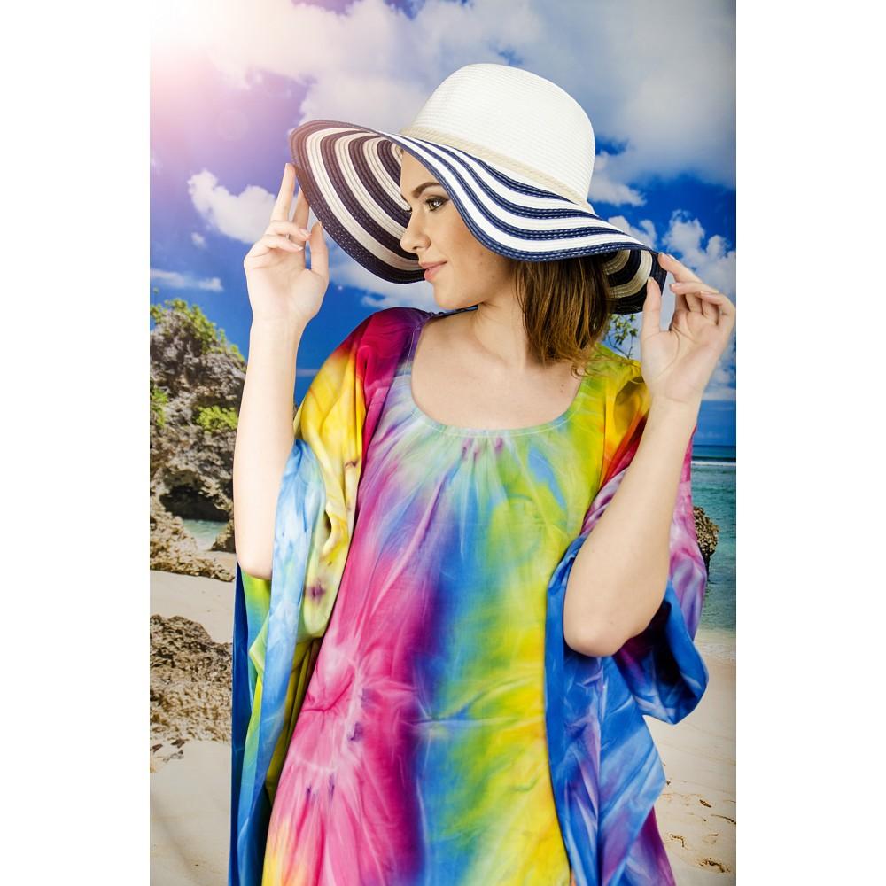 Плажна Туника Многоцветна