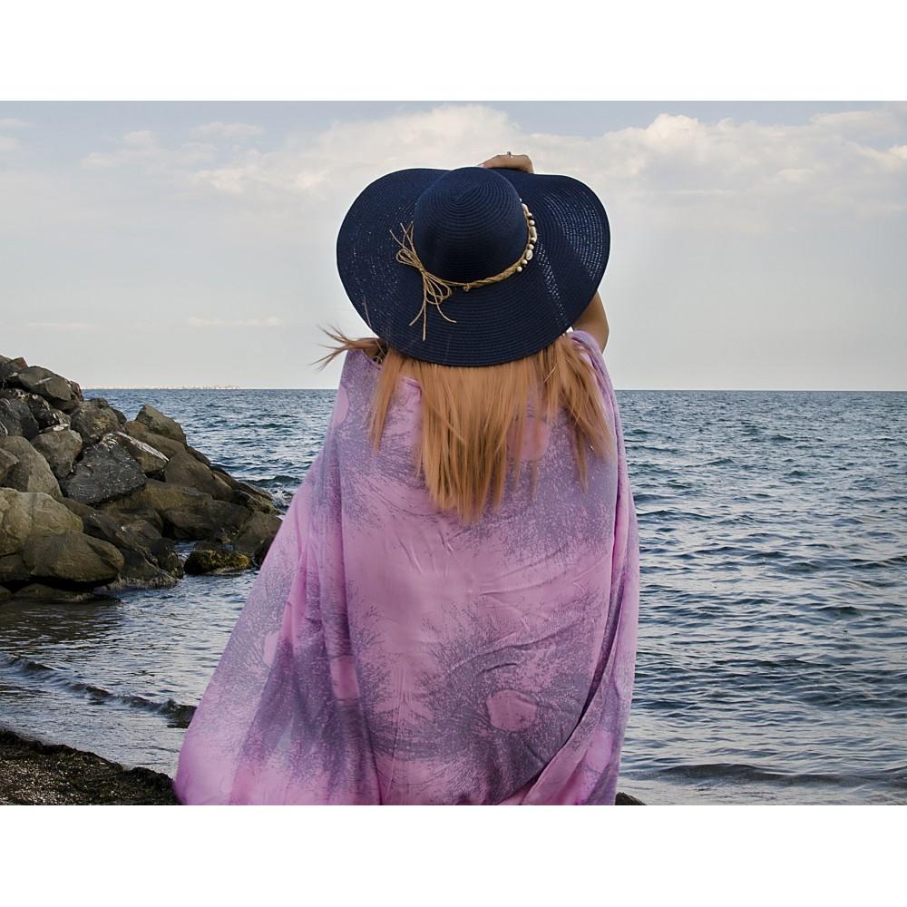 Плажна Туника в Цвят Розов