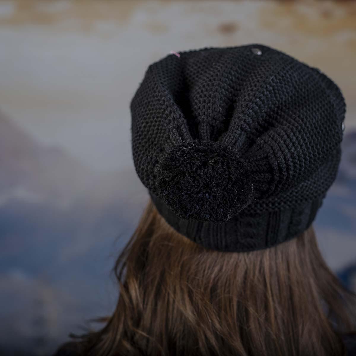 Дамски Зимен Черен комплект