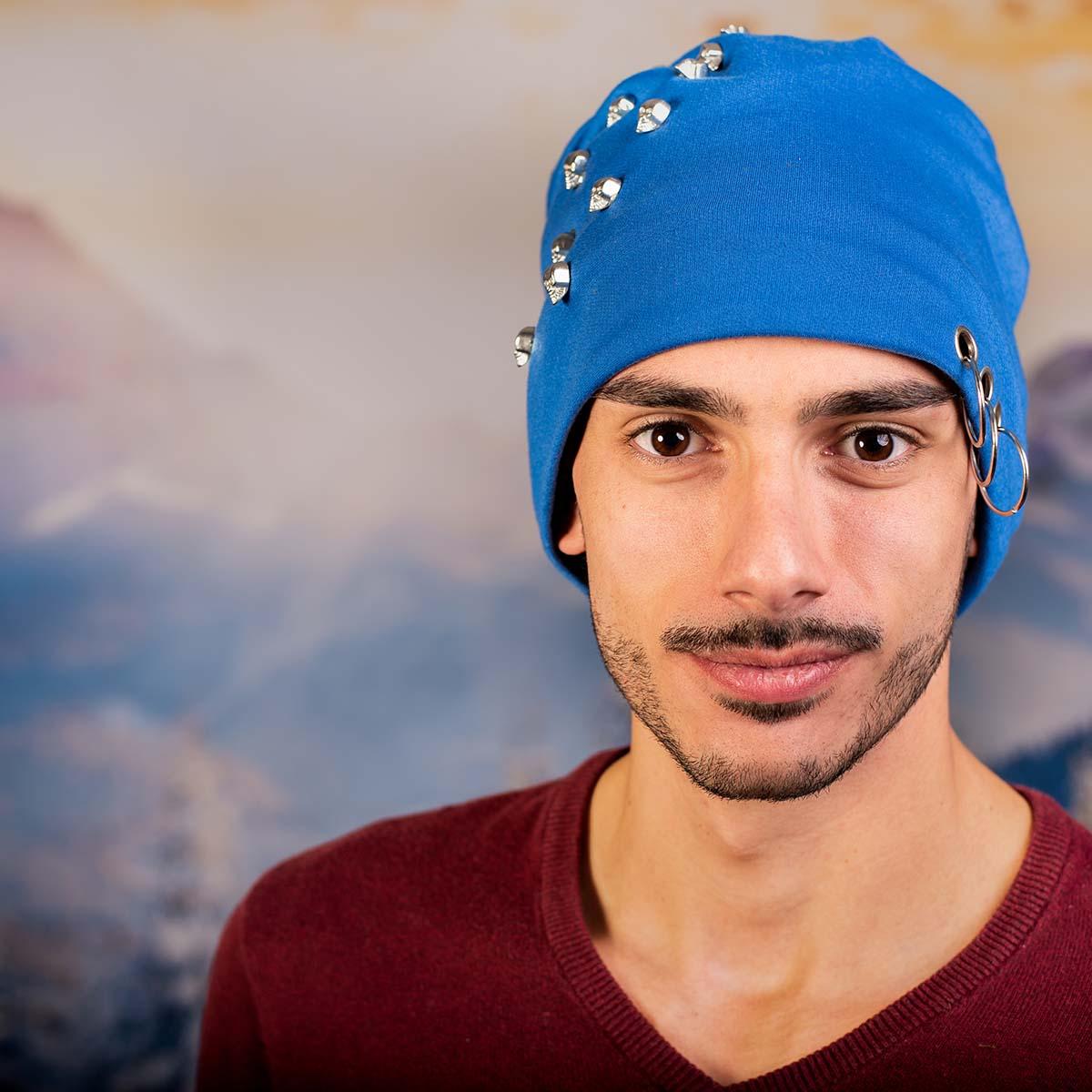 Скейтърска Шапка Виснала Синя