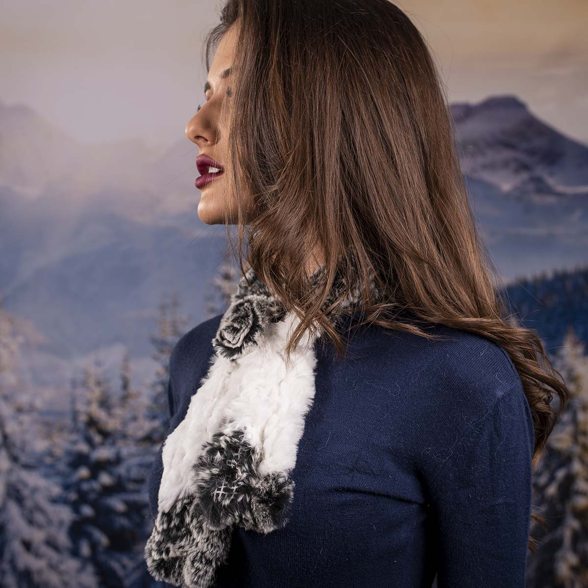 Дамски шал от Заек