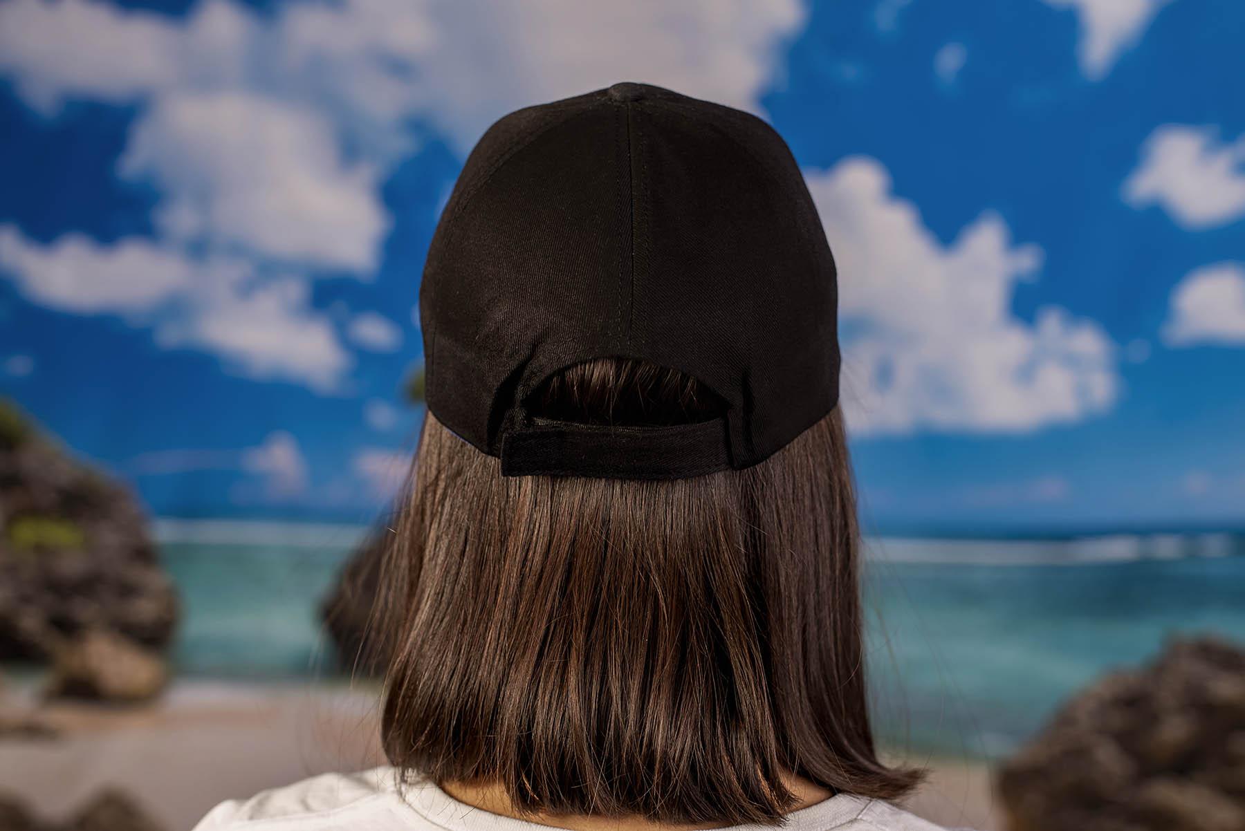 Черна шапка с надпис България