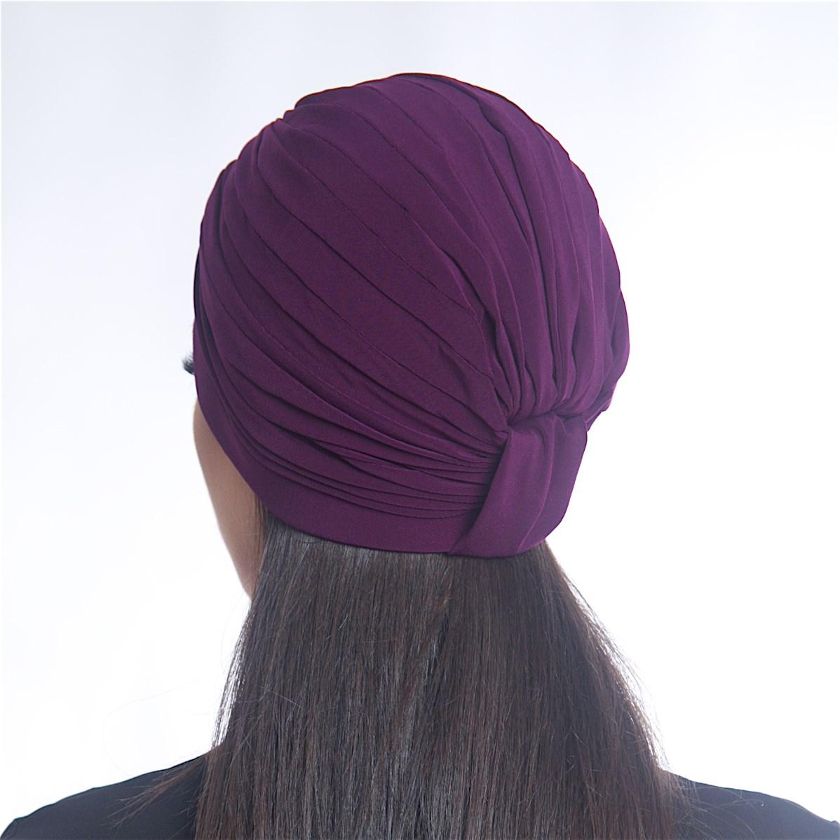 Дамски тюрбан лилав