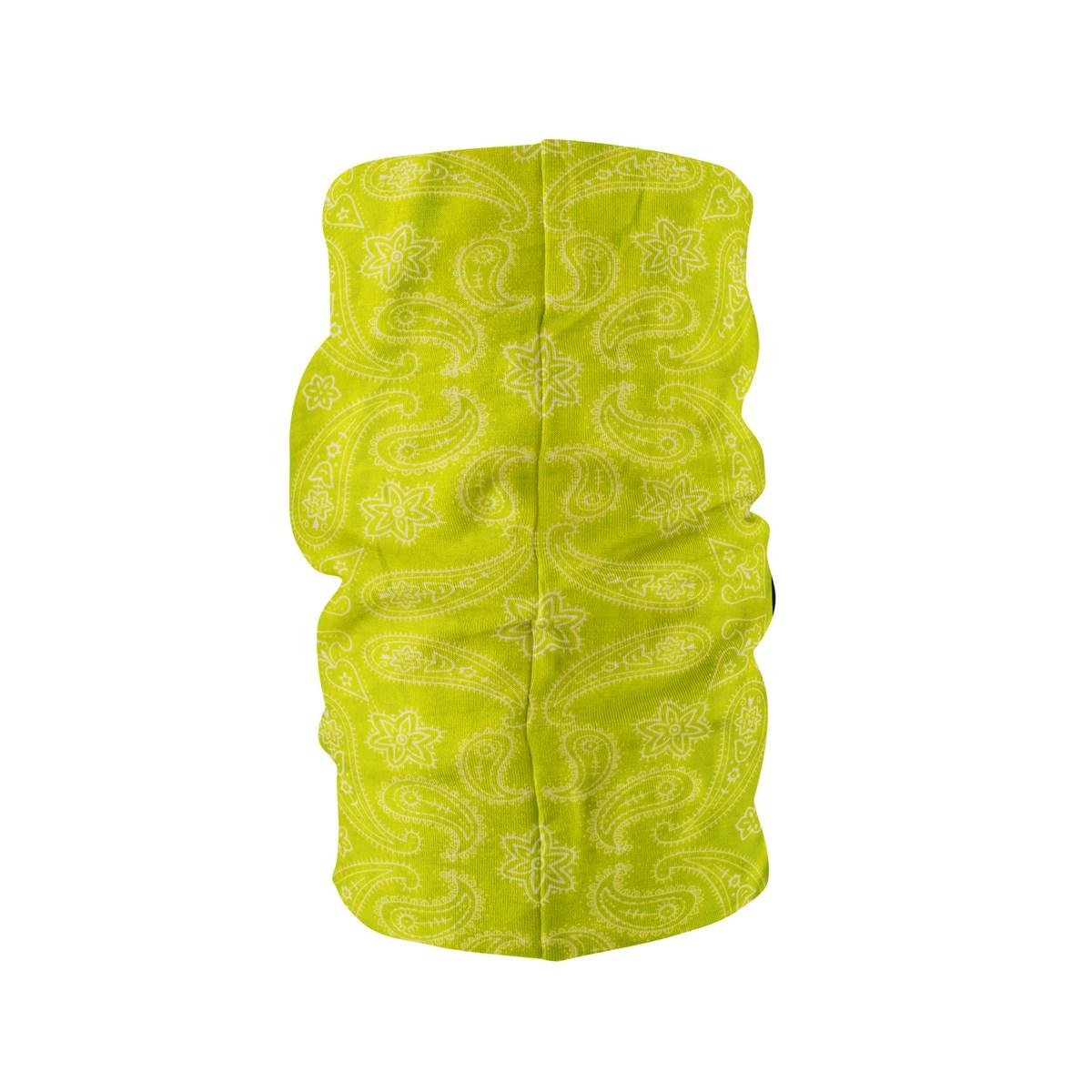 Многофункционална кърпа за глава Електрикаво жълто