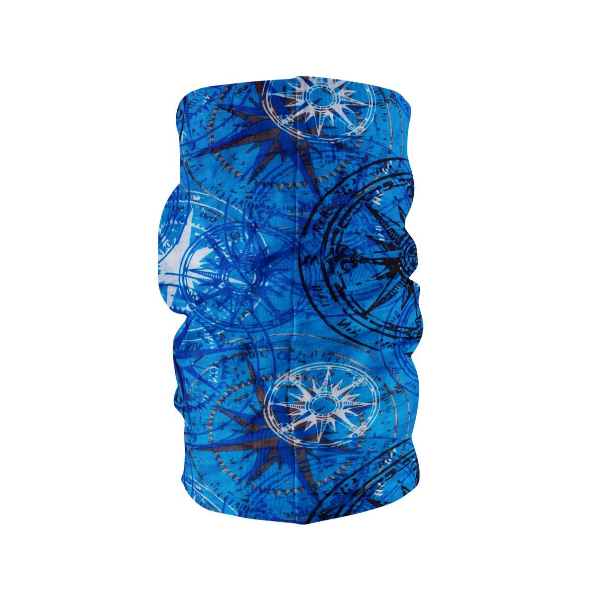 Многофункционална шарена кърпа за глава сини звезди
