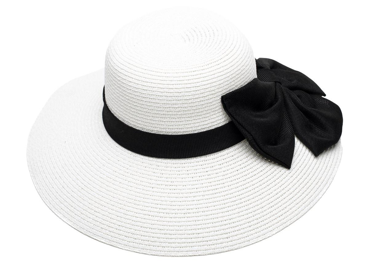 Дамска Бяла Капела със Черна пандела