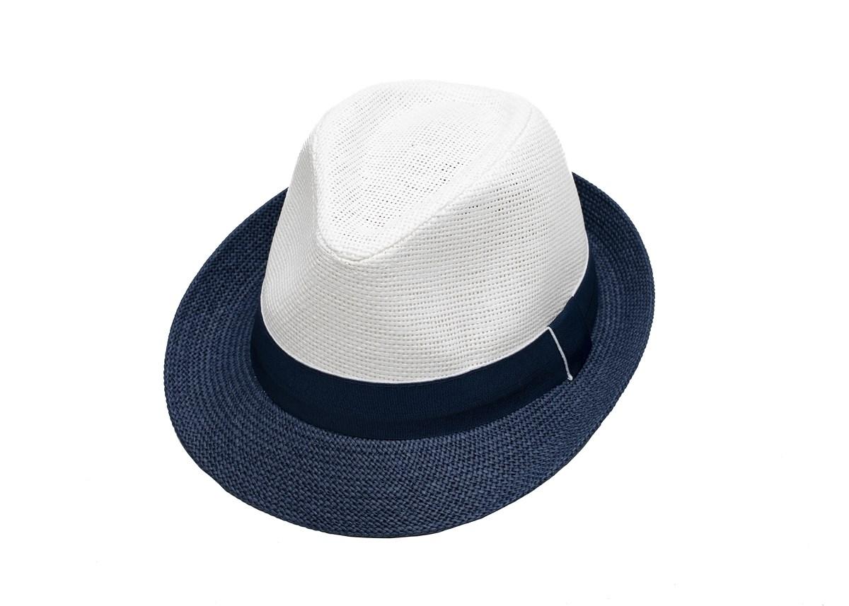 Мъжко Бомбе Бяло и синьо