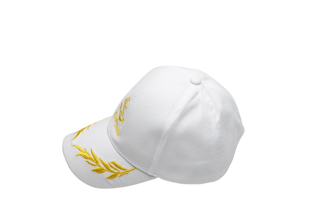 Бяла Детска капитанска шапка
