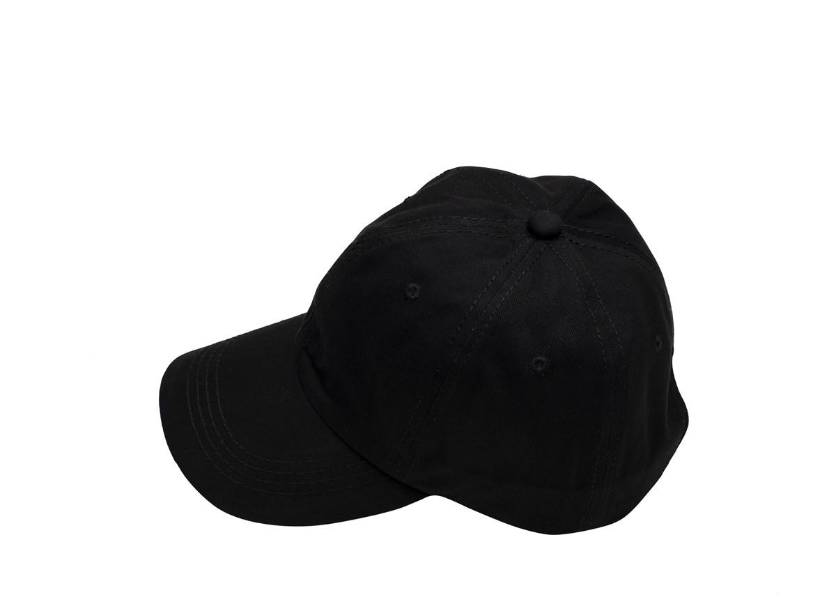 Черна шапка с козирка
