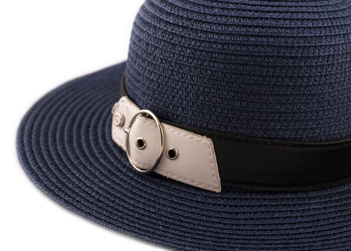 Синя Капела с кожено коланче