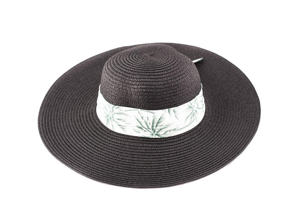Черна Капела с лента зелени палми