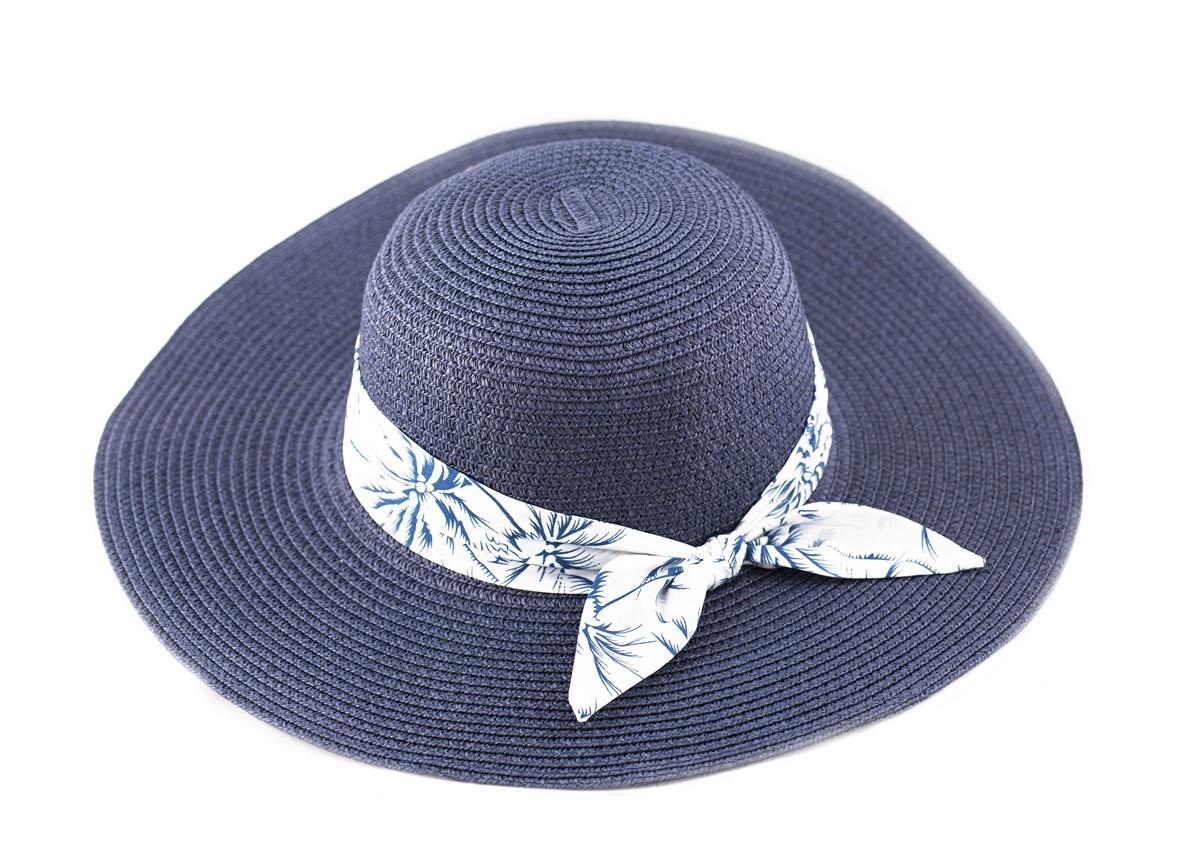 Синя Капела с лента сини палми