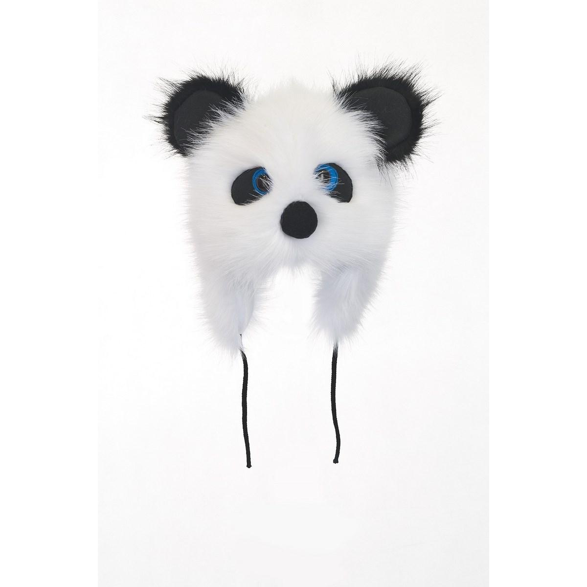 Зимна Пухкава Детска шапка Животно Панда
