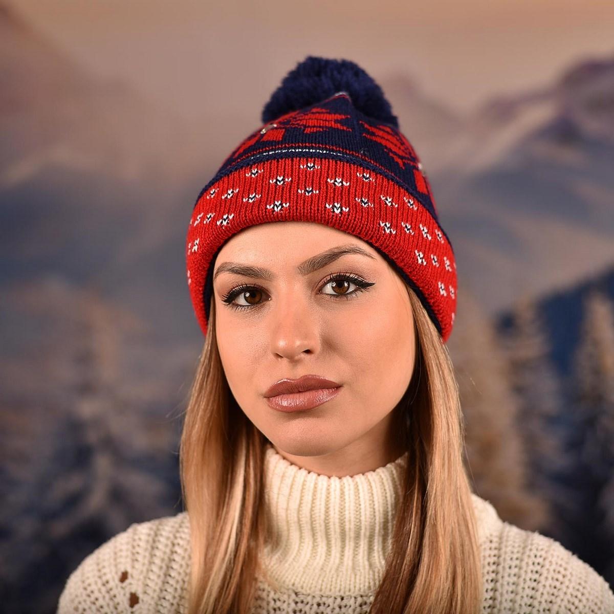 Зимна Дамска Шапка