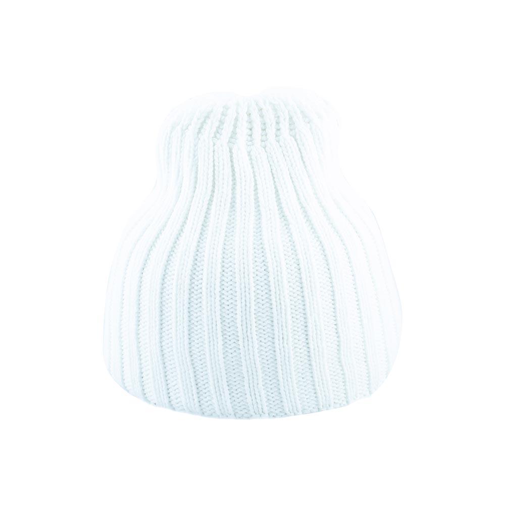 Дамска Зимна Бяла шапка