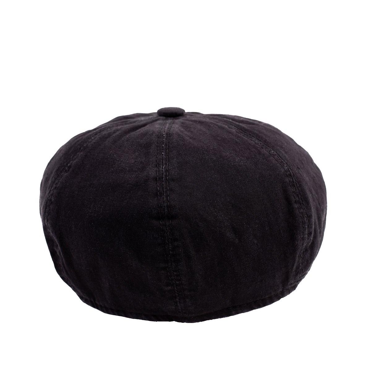 Мъжки Каскет Черно дънково