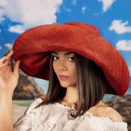 Дамска Елегантна Капела в Червено