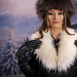 Дамска Зимна Яка от Еко Пух