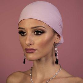 Дамски Тюрбан в Бледо Розово
