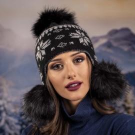 Дамска Зимна Ушанка от Ангора