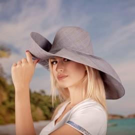 Капела от Рафия Бледо синя