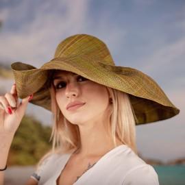 Капела от Рафия Тревисто зелена