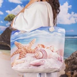 Плажна Чанта с Морски Елементи