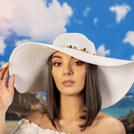 Дамска Лятна Капела с Миди в Бяло