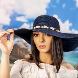 Дамска Лятна Капела с Миди в Синьо