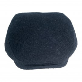 Мъжки Зимен Черен Каскет с ластик