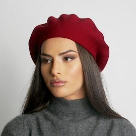 Червена Дамска Зимна Барета