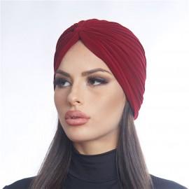 Дамски тюрбан бордо