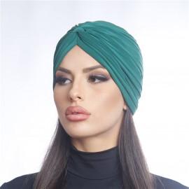 Дамски тюрбан в зелен цвят