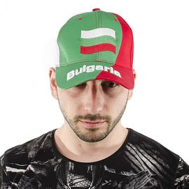 Шапка с Козирка Българско Знаме Унисекс