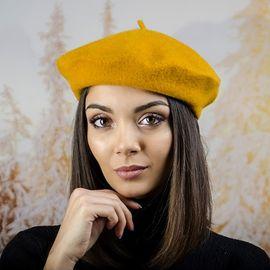Дамска Зимна Барета Горчица