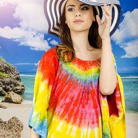 Плажна Туника в Ярки Цветове