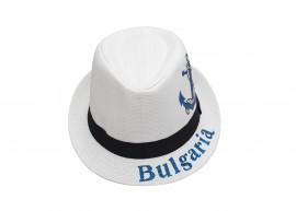 Мъжко Бяло Бомбе с надпис България