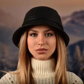 Зимна Шапка Тип Идиотка Естествена кожа