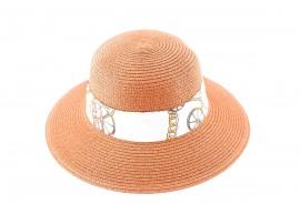 Дамска Керемиден цвят Капела с шарена лента