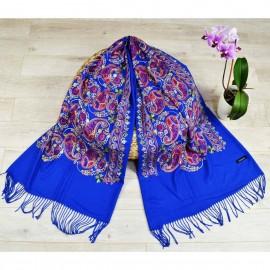 Кашмирен шал с бродерия